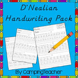 D'Nealian Writing Pack Handwriting Practice