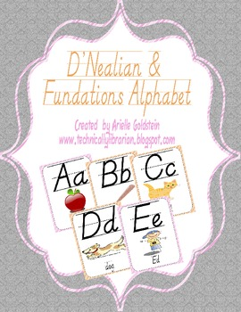 D'Nealian and Fundamentals Alphabet