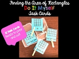 DO IT MYSELF Finding Area of a Rectangle Task Card set