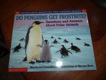 DO PENGUINS GET FROSTBITE     ISBN 0-439-19377-X