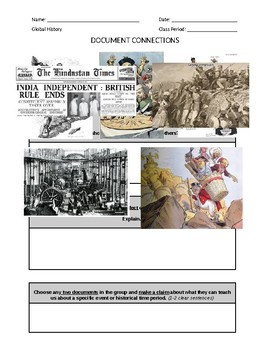 DOCUMENT CONNECTIONS - IMPERIALISM GROUP - WORD FORMAT (New Global Regents)