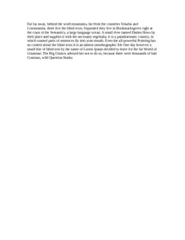 DOCX File for testing purpose v1