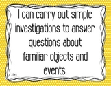 DODEA/DDESS 2nd Grade Science Standard I Can Statements