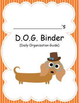 DOG Binder Cover