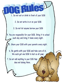 DOG Binder Rules