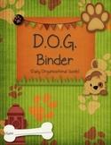 D.O.G. Binder Starter Kit