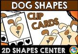 DOG SHAPES CENTER (KINDERGARTEN GEOMETRY ACTIVITIES)