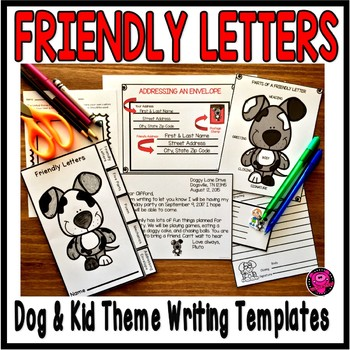 Using Commas in Friendly Letters Activity