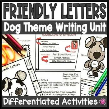 Friendly Letter Writing Unit