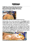 DOGOnews worksheets - 2,363 lb Gourd Sets Record At Pumpki