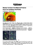 DOGOnews worksheets - Monster Hurricane Irma Makes Its Pre