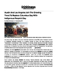 DOGOnews worksheets - Trend To Replace Columbus Day with I