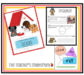 DOGS:  2nd grade story from Journeys