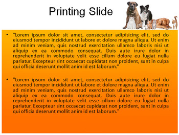 DOGS AND CATS POWERPOINT TEMPLATE