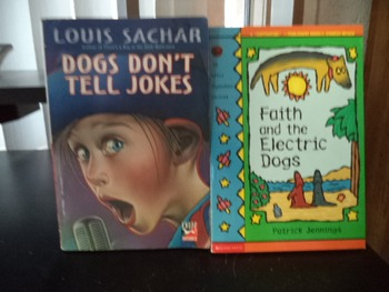 DOGS DONT TELL JOKES  FAITH AND ELEC. DOGS  (SET OF 2)