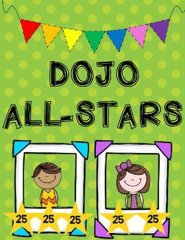 DOJO Rewards- Classroom Management