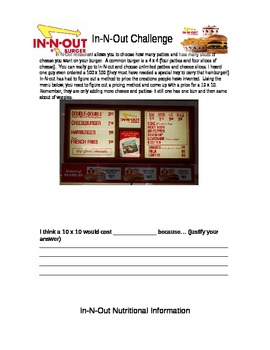 DOK 3:  In-N-Out challenge (editable)