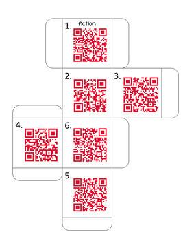 DOK Comprehension Cubes (fiction)