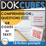 DOK | Depth of Knowledge | Question Cubes | Fiction