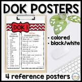 DOK (Depth of Knowledge) Posters