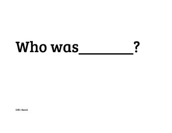 DOK Question of the Day