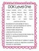DOK Task Cards (Webb's Depth of Knowledge)