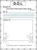 D.O.L. -Daily Oral Language Writing Practice (read it, fix it, draw it) Packet B