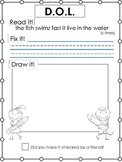 D.O.L. -Daily Oral Language Writing Practice (read it, fix it, draw it) Packet C