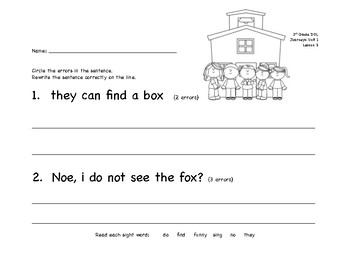DOL Journeys Lesson 3, 1st grade