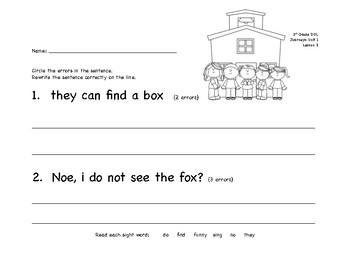 DOL Journeys Lesson 3, 1st grade