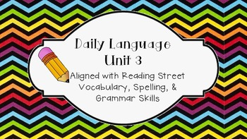 Daily Language Unit 3