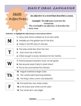 DOL: Adjectives