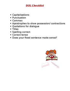 DOL checklist