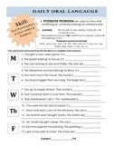 DOL: possessive pronouns