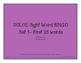 DOLCE Sight Word BINGO