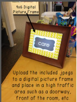 {1ST GRADE} Digital Picture Frame Sight Words 4X6