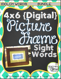 {BUNDLE:Pre-Primer,Primer,1st,2nd,3rd,Nouns}Digital Picture Frame SightWords 4X6