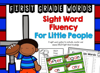DOLCH First Grade Sight Word Fluency for Little People