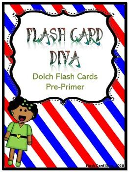 DOLCH FLASH CARDS PRE_PRIMER
