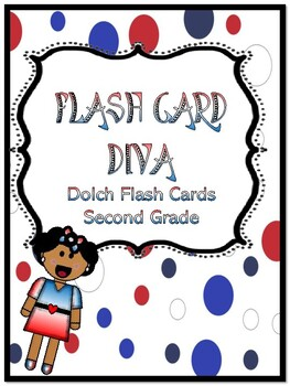 DOLCH FLASH CARDS SECOND GRADE