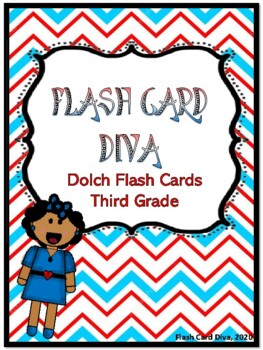 DOLCH FLASH CARDS THIRD GRADE