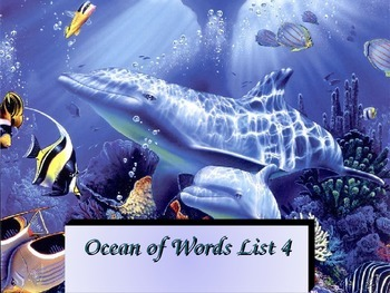 DOLCH List 4 Ocean of Words