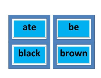 DOLCH PREPRIMAR & PRIMAR HIGH FREQUENCY SIGHT WORDS