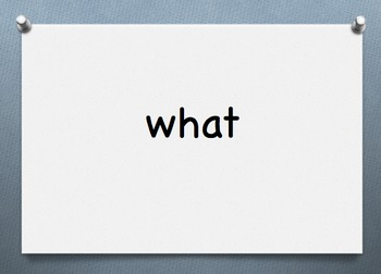 DOLCH SIGHT WORD PRIMER  Powerpoint 102
