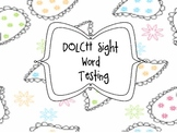 DOLCH Sight Word Tests