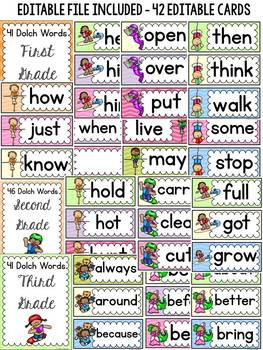 DOLCH WORD WALL CLASS DECOR: WILD ABOUT READING THEME
