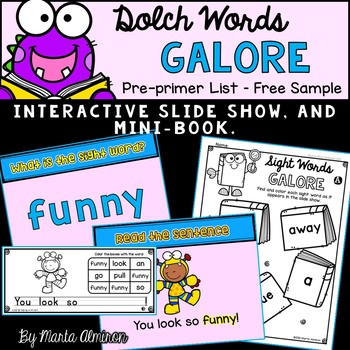 DOLCH Words Galore - {FREEBIE}