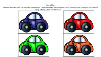 DOLCH sight word board game pre-primer and primer