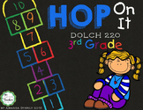DOLCH sight words (3rd grade) HOP ON IT game