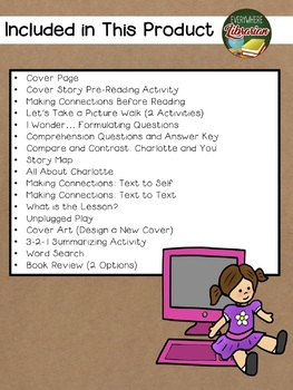 DOLL - E 1.0 by McCloskey 19 Book Extension Activities NO PREP